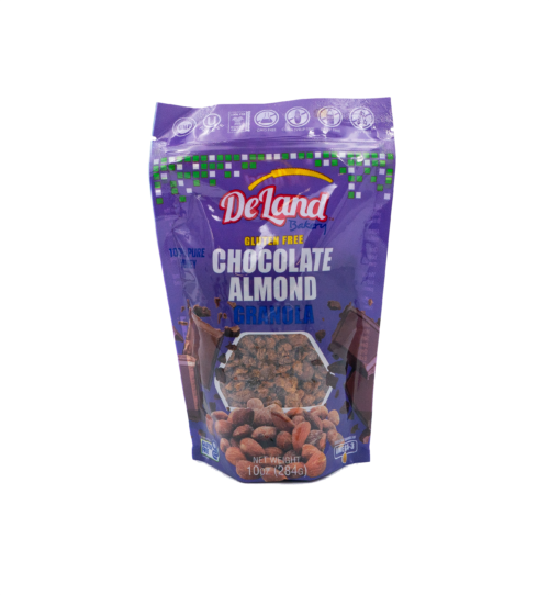 Chocolate Almond Granola Front