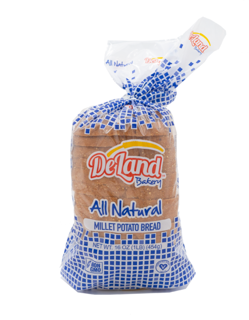 All Natural Millet Potato Bread Front - Millet Based - Simple Ingredients